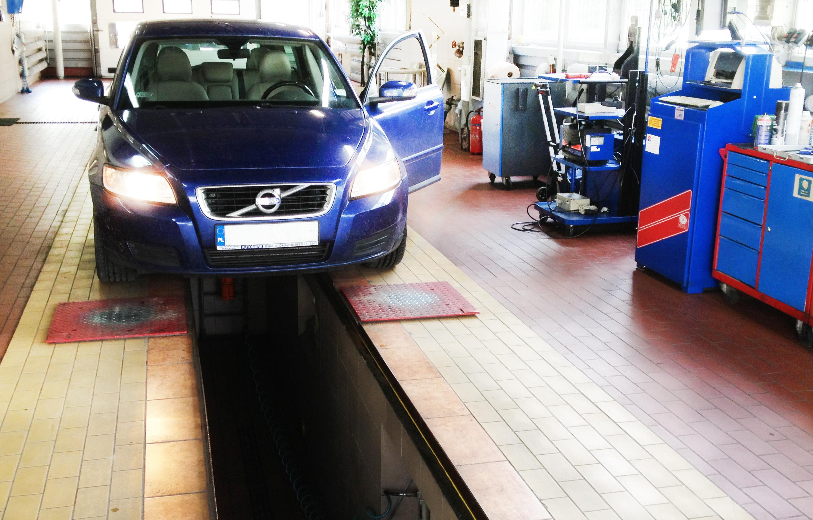 stacja kontroli pojazdow